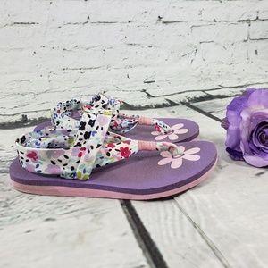 Skechers Yoga Foam Meditation Sandles Purple 8